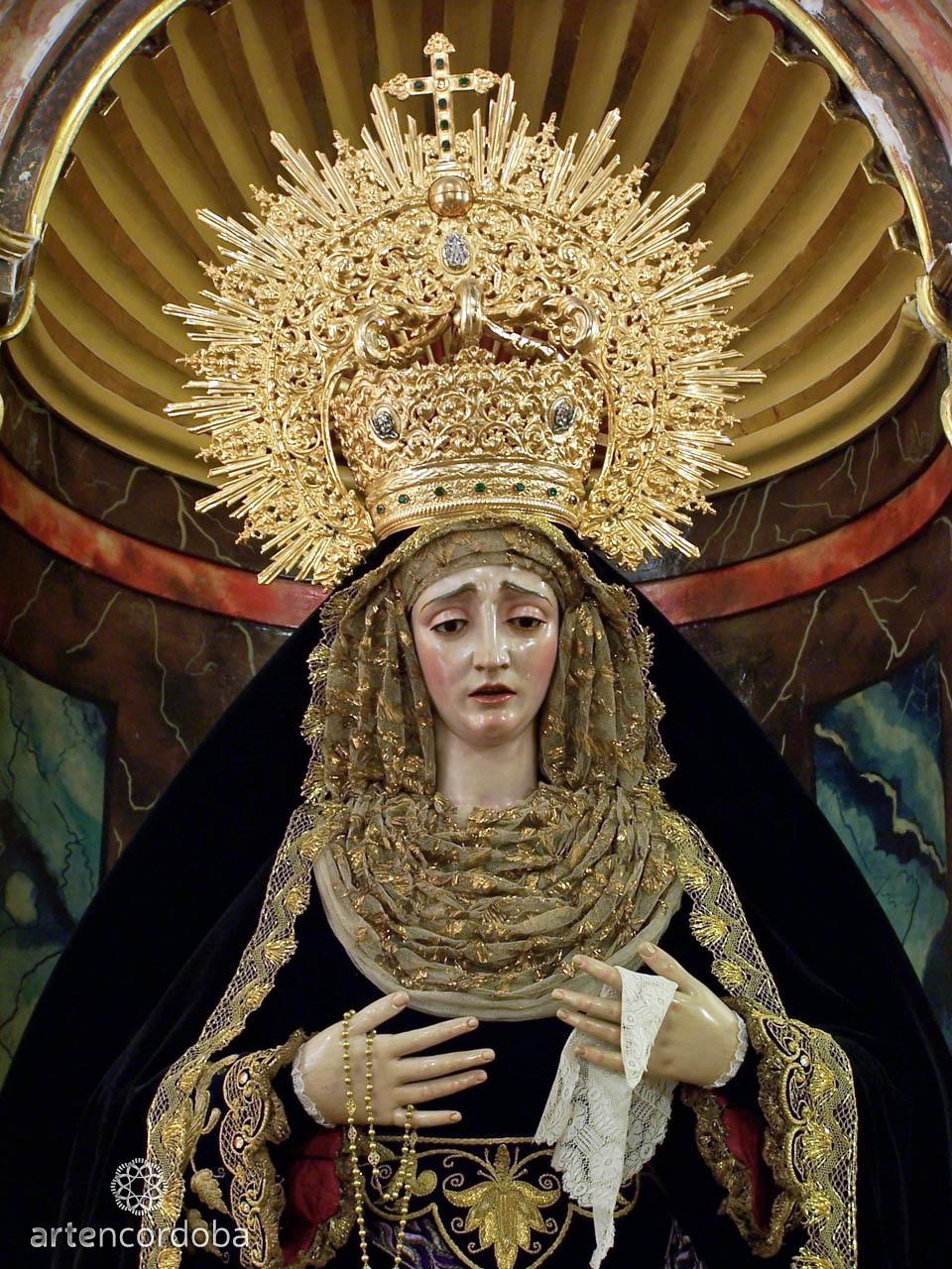 María Santísima de Gracia y Amparo - Hermandad de La Sentencia en Córdoba
