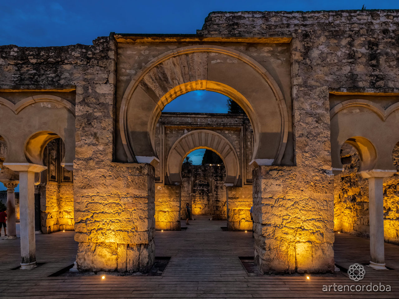 Guided Tour to Medina Azahara at Night